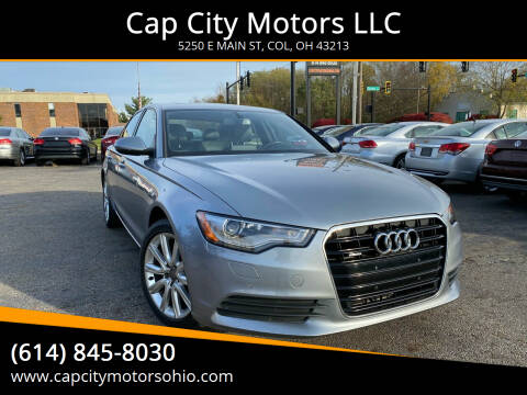 2013 Audi A6 for sale at Cap City Motors LLC in Columbus OH