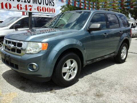 2012 Ford Escape for sale at John 3:16 Motors in San Antonio TX