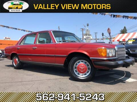 1977 Mercedes-Benz Benz 450 for sale at Valley View Motors in Whittier CA