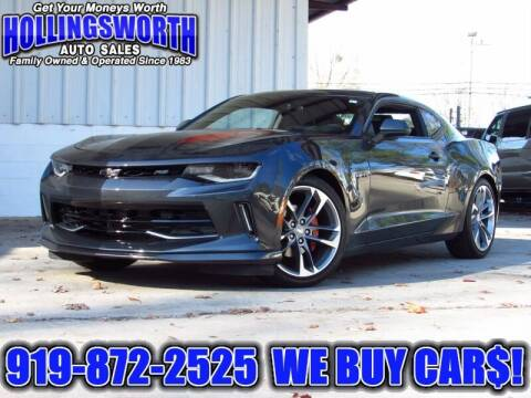 2017 Chevrolet Camaro for sale at Hollingsworth Auto Sales in Raleigh NC