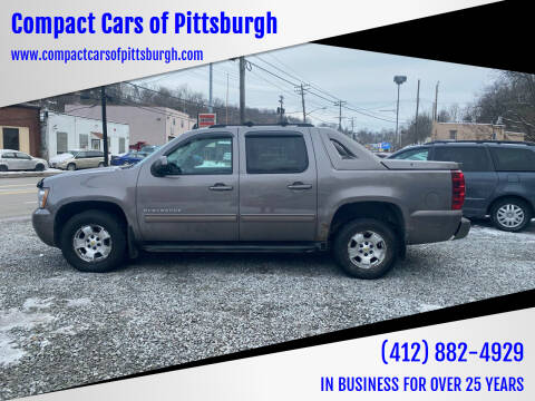 2011 Chevrolet Avalanche for sale at Compact Cars of Pittsburgh in Pittsburgh PA