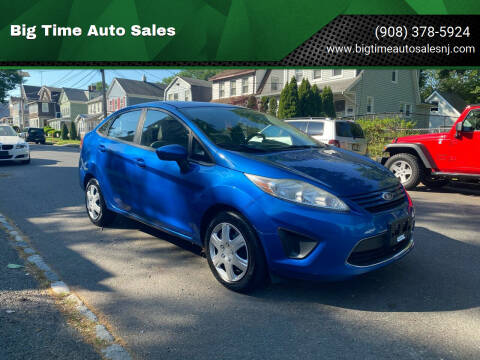 2011 Ford Fiesta for sale at Big Time Auto Sales in Vauxhall NJ