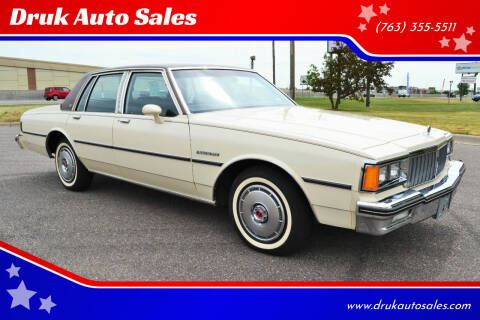1984 Pontiac Parisienne for sale at Druk Auto Sales in Ramsey MN