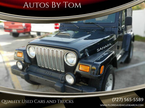 2002 Jeep Wrangler for sale at Autos by Tom in Largo FL