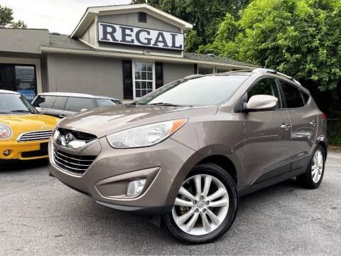 2012 Hyundai Tucson for sale at Regal Auto Sales in Marietta GA