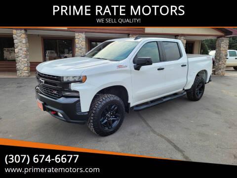 2021 Chevrolet Silverado 1500 for sale at PRIME RATE MOTORS in Sheridan WY