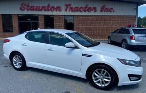 2013 Kia Optima for sale at STAUNTON TRACTOR INC in Staunton VA