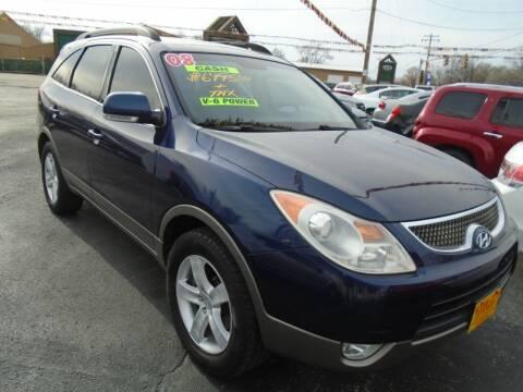 2008 Hyundai Veracruz for sale at River City Auto Sales in Cottage Hills IL