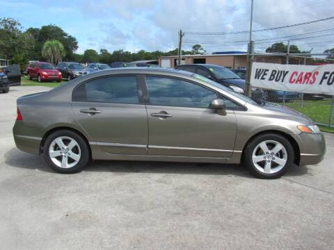 2007 Honda Civic for sale at Checkered Flag Auto Sales NORTH in Lakeland FL