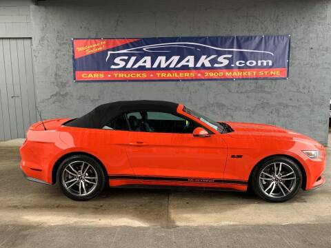 2016 Ford Mustang for sale at Siamak's Car Company llc in Salem OR