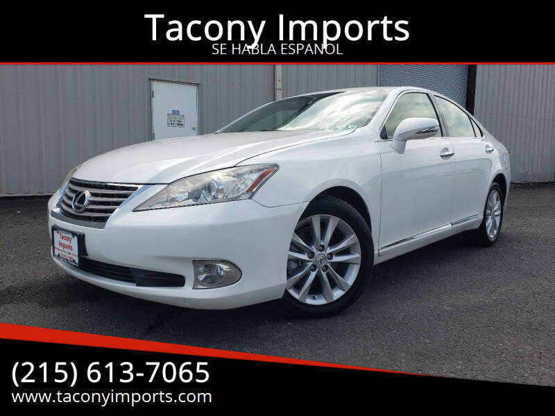 2012 Lexus ES 350 for sale at Tacony Imports in Philadelphia PA