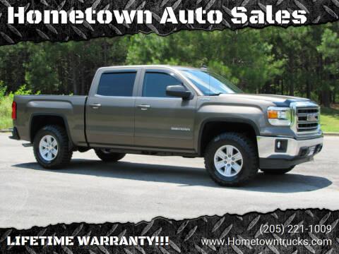 2015 GMC Sierra 1500 for sale at Hometown Auto Sales - Trucks in Jasper AL