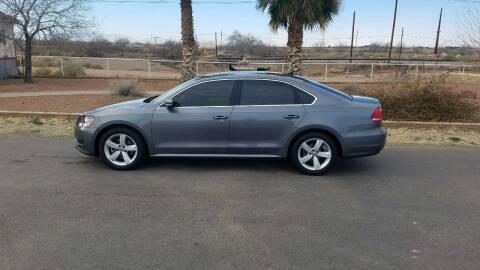 2013 Volkswagen Passat for sale at Ryan Richardson Motor Company in Alamogordo NM