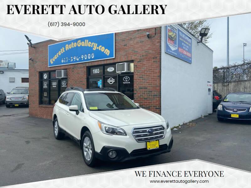 2016 Subaru Outback for sale at Everett Auto Gallery in Everett MA