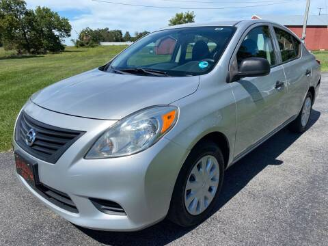 2014 Nissan Versa for sale at Champion Motorcars in Springdale AR