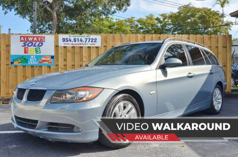 2007 BMW 3 Series for sale at ALWAYSSOLD123 INC in Fort Lauderdale FL