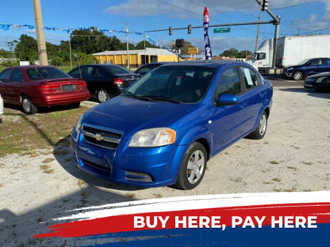 2007 Chevrolet Aveo for sale at SKYLINE AUTO SALES LLC in Winter Haven FL