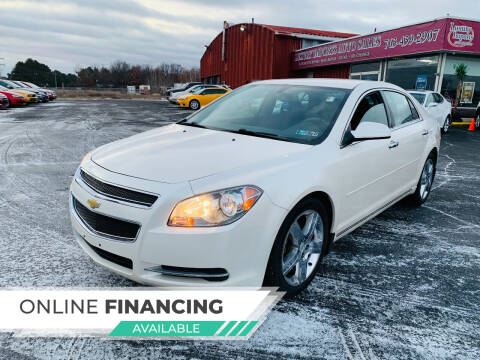 2012 Chevrolet Malibu for sale at LUXURY IMPORTS AUTO SALES INC in North Branch MN