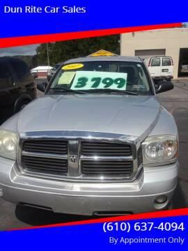 2007 Dodge Dakota for sale at Dun Rite Car Sales in Downingtown PA