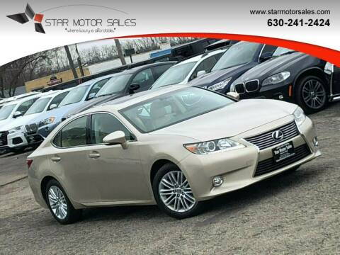 2013 Lexus ES 350 for sale at Star Motor Sales in Downers Grove IL