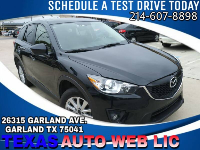 2013 Mazda CX-5 for sale at TEXAS AUTO WEB LLC in Garland TX