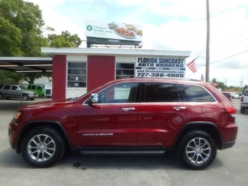 2014 Jeep Grand Cherokee for sale at Florida Suncoast Auto Brokers in Palm Harbor FL