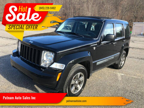 2008 Jeep Liberty for sale at Putnam Auto Sales Inc in Carmel NY