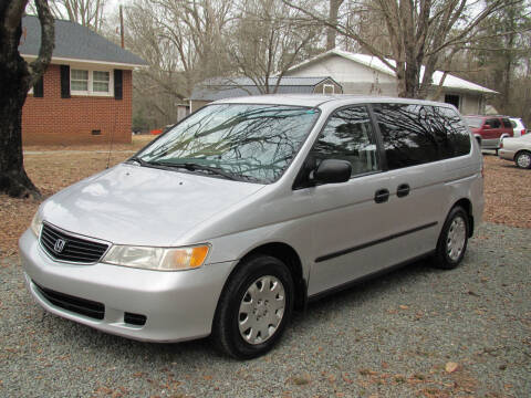 2001 Honda Odyssey for sale at White Cross Auto Sales in Chapel Hill NC