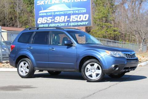 2013 Subaru Forester for sale at Skyline Motors in Louisville TN
