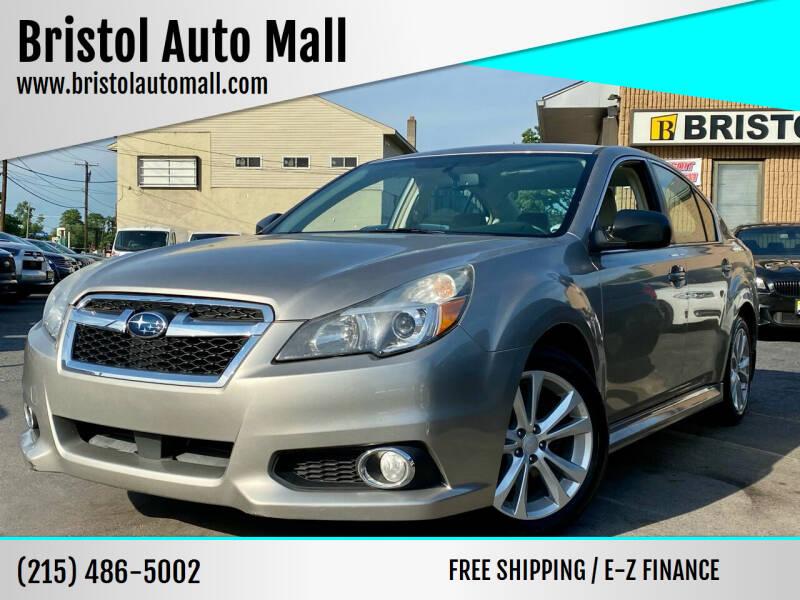 2014 Subaru Legacy for sale at Bristol Auto Mall in Levittown PA