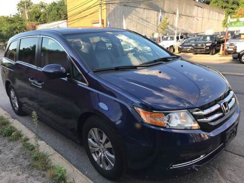 2015 Honda Odyssey for sale at White River Auto Sales in New Rochelle NY