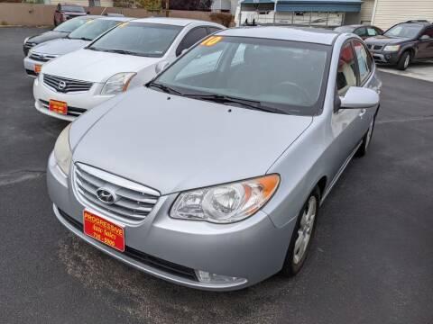 2010 Hyundai Elantra for sale at Progressive Auto Sales in Twin Falls ID