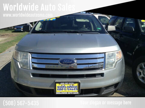 2007 Ford Edge for sale at Worldwide Auto Sales in Fall River MA
