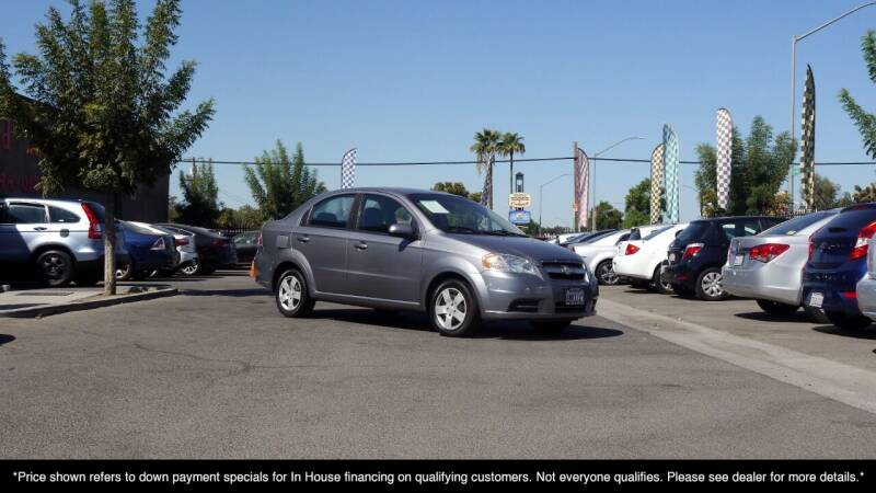 2010 Chevrolet Aveo for sale at Westland Auto Sales in Fresno CA
