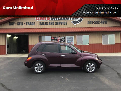 2003 Chrysler PT Cruiser for sale at Cars Unlimited in Marshall MN