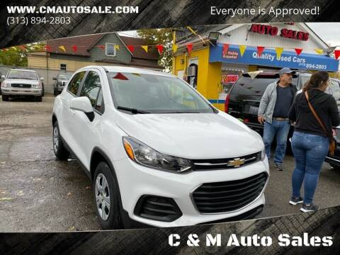 2017 Chevrolet Trax for sale at C & M Auto Sales in Detroit MI