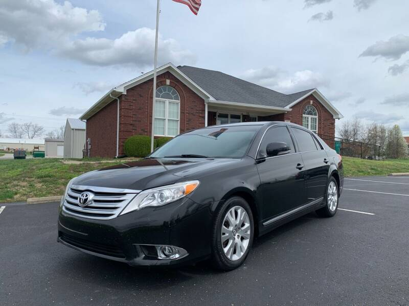 2012 Toyota Avalon for sale at HillView Motors in Shepherdsville KY