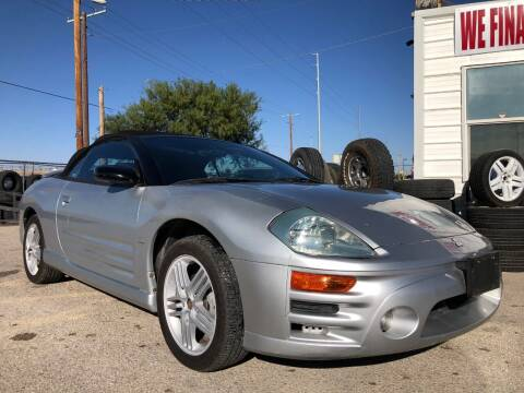 2004 Mitsubishi Eclipse Spyder for sale at Eastside Auto Sales in El Paso TX