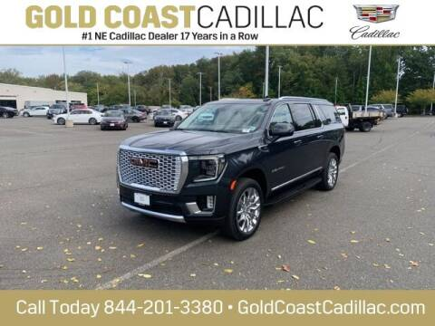 2021 GMC Yukon XL for sale at Gold Coast Cadillac in Oakhurst NJ