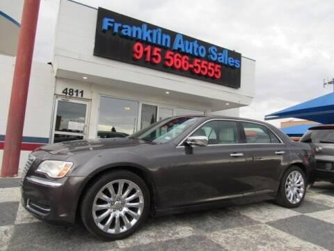 2014 Chrysler 300 for sale at Franklin Auto Sales in El Paso TX