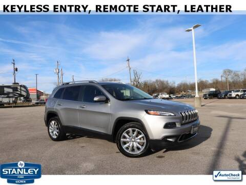 2015 Jeep Cherokee for sale at Stanley Ford Gilmer in Gilmer TX