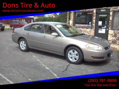 2006 Chevrolet Impala for sale at Dons Tire & Auto in Butler WI