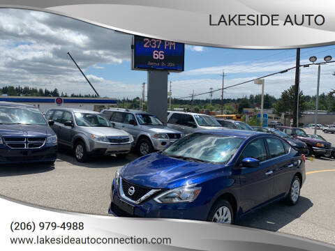 2018 Nissan Sentra for sale at Lakeside Auto in Lynnwood WA