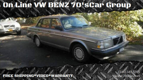 1990 Volvo 240 for sale at On Line VW BENZ 70'sCar Group in Warehouse CA