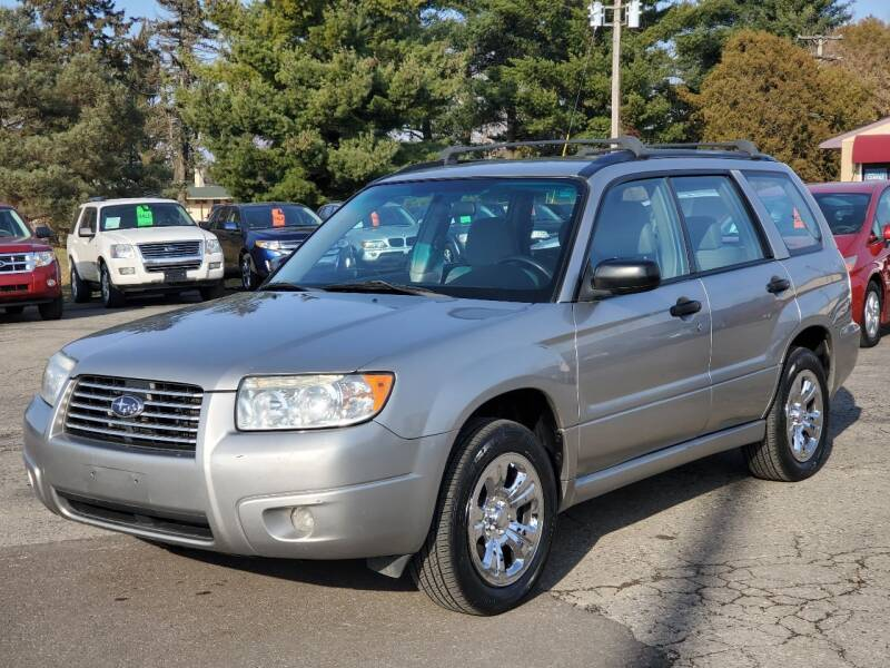 2006 Subaru Forester for sale at Thompson Motors in Lapeer MI