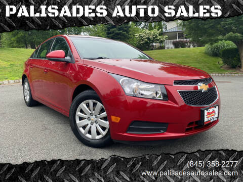 2011 Chevrolet Cruze for sale at PALISADES AUTO SALES in Nyack NY