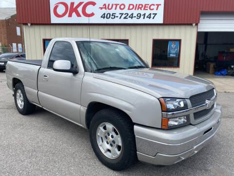2005 Chevrolet Silverado 1500 for sale at OKC Auto Direct, LLC in Oklahoma City OK