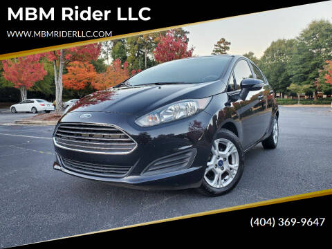 2016 Ford Fiesta for sale at MBM Rider LLC in Alpharetta GA