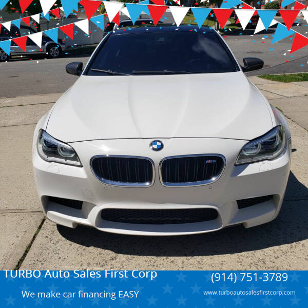 2015 BMW M5 for sale at TURBO Auto Sales First Corp in Yonkers NY