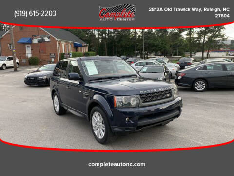 2011 Land Rover Range Rover Sport for sale at Complete Auto Center , Inc in Raleigh NC